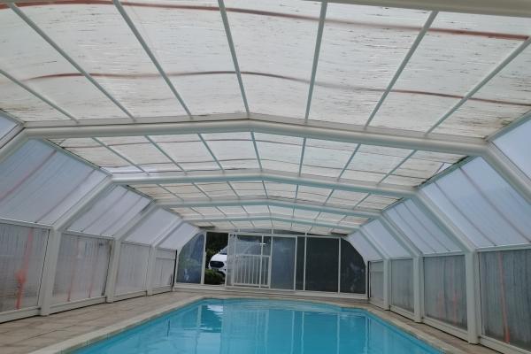 Remplacement 7 plaques de toiture / Avant