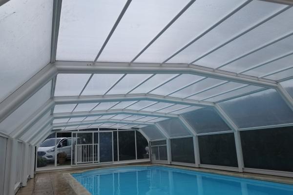 Remplacement 7 plaques de toiture / Après
