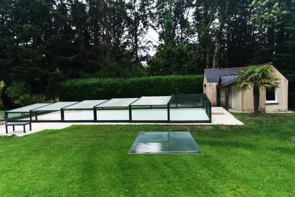 Remplacement plaque de toiture suite aux vents violents