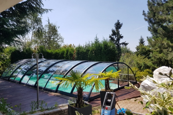 Abri de piscine Installation 2019
